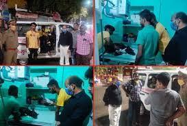 कुशीनगर में कई दिनों से रेलवे स्टेशन पर भटक रहे घायल कुत्ता के इलाज के लिए महाराष्ट्र से आई टीम