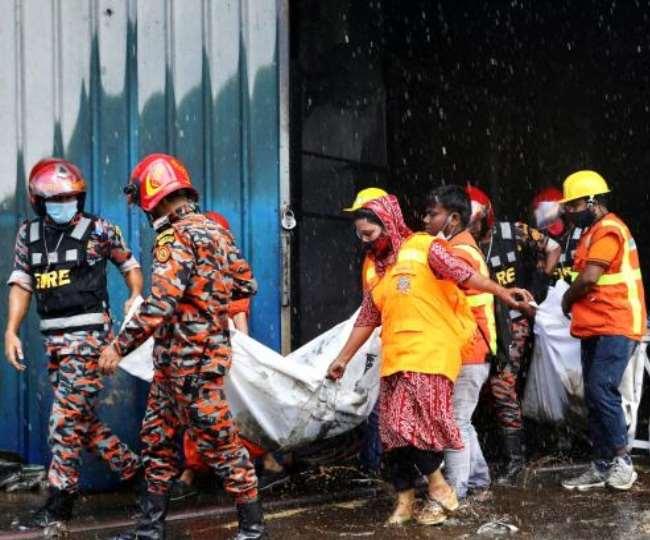 बांग्लादेश में जूस फैक्टरी में आग लगने से 52 लोगों की मौत, 50 से ज्यादा झुलसे.