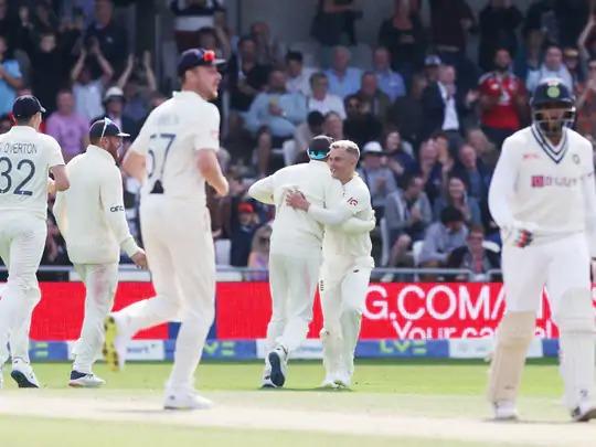 इंग्लैंड ने भारत को पारी और 76 रन से हराया,सीरीज 1-1 से बराबर.