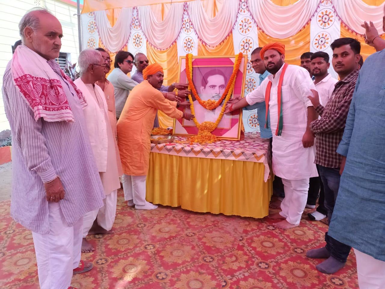 मनाई गई समाजसेवी बाबु शम्भु प्रसाद सिंह की 32 शहादत दिवस