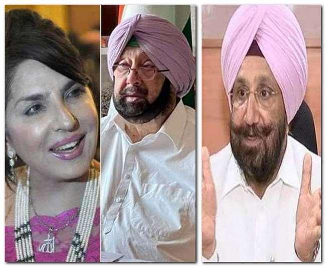 अमरिंदर सिंह की पाकिस्तानी दोस्त अरूसा पर सियासी बवाल,क्यों?