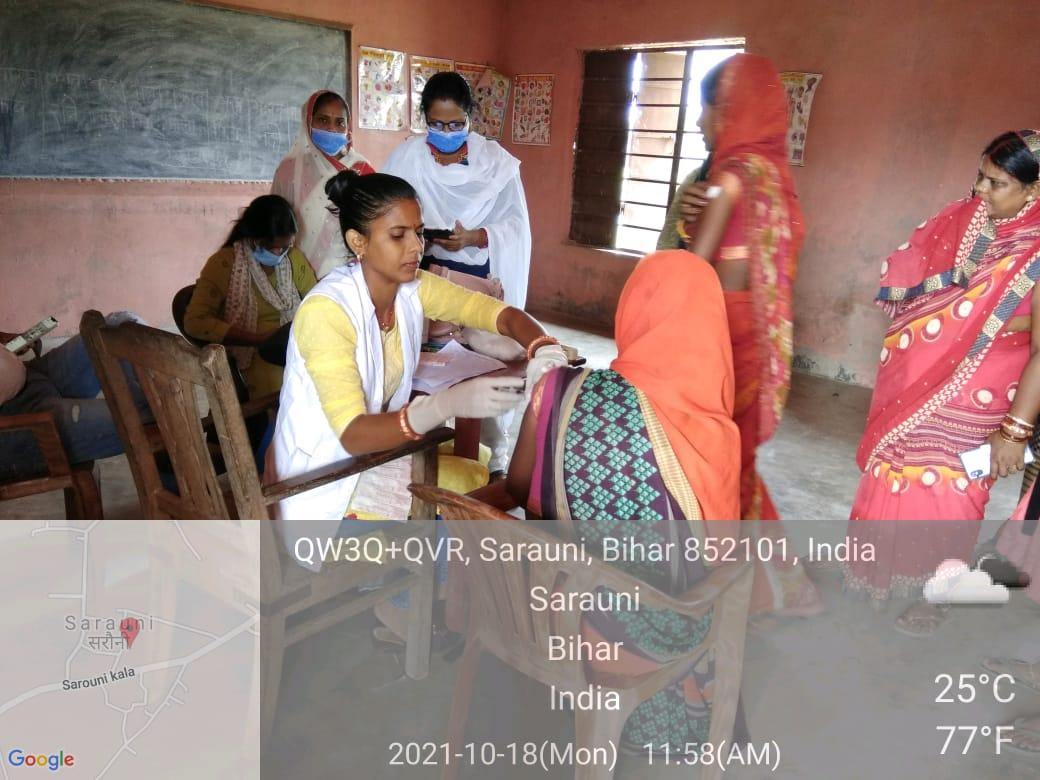 कोविड टीकाकरण : वैक्सीन की डोज के लिए जिले में चला अभियान