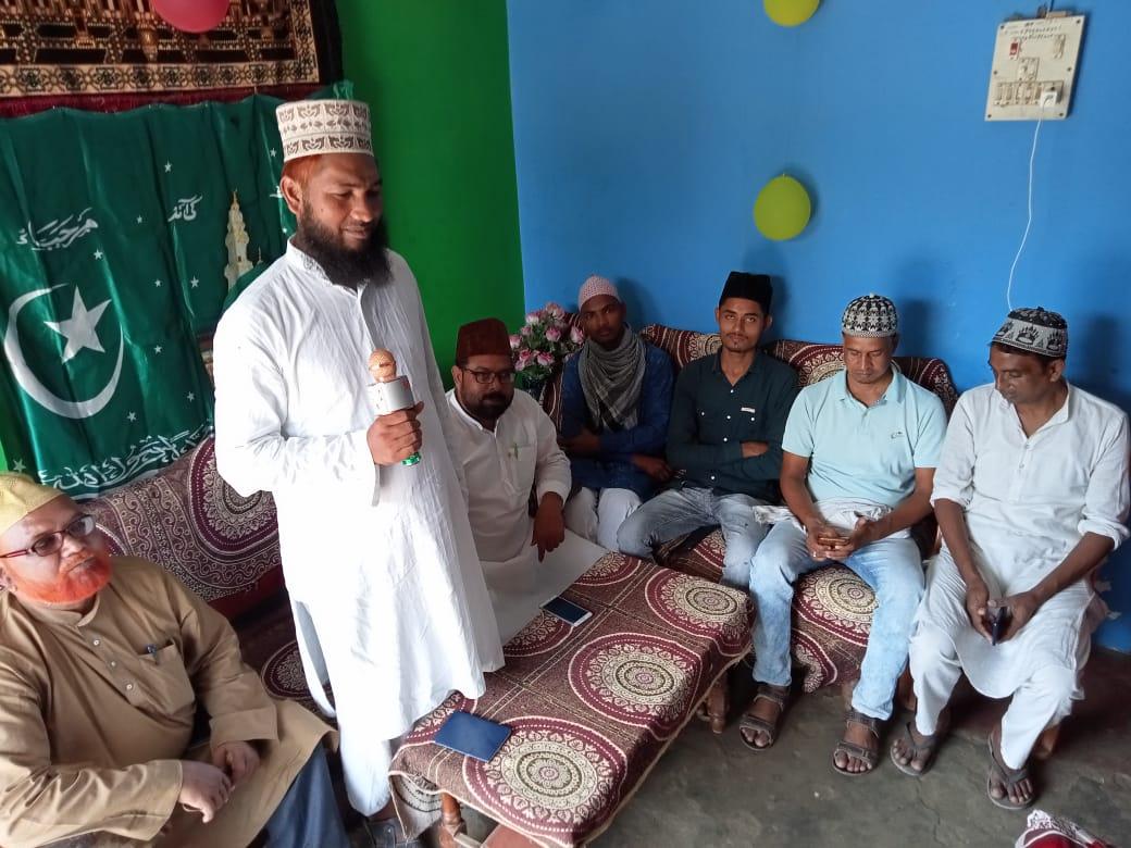 Raghunathpur: रबीउल अव्वल के मौके पर नातिया मुशायरा का आयोजन